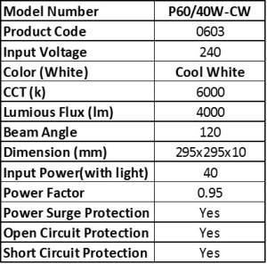 P60-40W-CW
