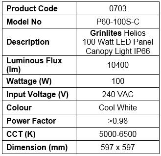 P60NIP66-100-S